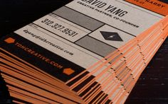 kraft paper business cards printing - Google Search