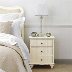 Amelie 3 Drawer bedside £249