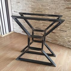 Set of Two X Metal Table Legs, Iron Table Legs, 27 Steel Table Legs, Modern Table Legs, Industrial Metal Table Legs, DTL01 These x metal table legs can go with any top: glass, wood, marble... As shown in pictures these table legs are available in clear, but can also be in black