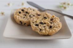 grain-free currant scones | themusicianwhocooks.com