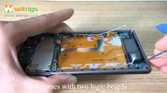 Sony Xperia Z1 Teardown video~