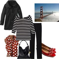 """""""On Holiday in Nortern Califonia"""" by annabouttown on Polyvore"""