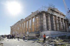 Renovations on the Parthenon at the Acropolis