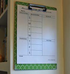 Homestead Revival: Desk Organization: Clipboards