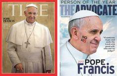 Cinq signes que le #pape est devenu #pop #pontifex