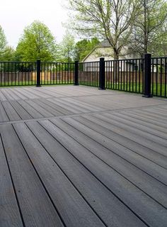 Deck colors for grey house fiberon composite deck in for Evergrain decking cost