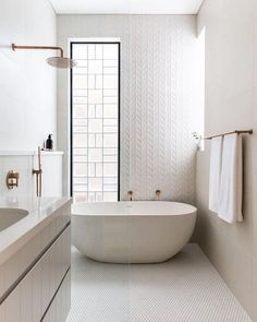 Are you and your bathroom the right candidates for a sleek minimalist setting? Contemporary bathroom, as well as a minimalist bathroom, is a perfect example of the interior perfection to optimize the space and maximize the appearance with a minimum Bathroom Design Luxury, Modern Bathroom, Small Bathrooms, Dream Bathrooms, Master Bathrooms, 3d Tiles Bathroom, Wall Tiles, The Block Bathroom, Minimalist Bathroom Furniture
