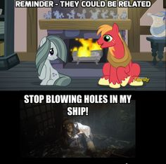 That's not a hole the reason they met is because they might be related...FLUTTERMAC FOREVER!!!