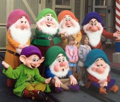 7 Dwarfs Snow White Cake, 7 Dwarfs, Tinkerbell, Disney, Fictional Characters, Art, Art Background, Kunst, Tinker Bell