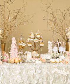 Lee Forrest Design LLC - wedding dessert display