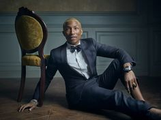 Pharrell Williams | Mark Seliger's Vanity Fair Oscar Party Portrait Studio
