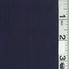 Navy Tropical Wool