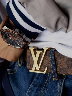 Louis vuitton belt for men
