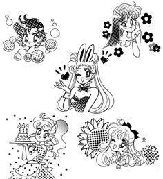Silver Moon Crystal Power Kiss! Sailor Moon Manga, Sailor Moon Art, Sailor Moon Crystal, Sailor Moon Screencaps, Doodle Tattoo, Sailor Moon Aesthetic, Anime Tattoos, Flash Art, Sailor Scouts