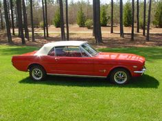 1965 Convertible Ford Mustang.