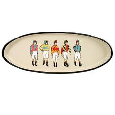 """Off To The Races, 20"""" Antipasto Platter"""