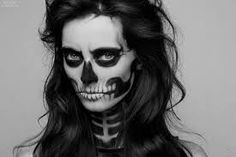 scary beautiful halloween makeup - Google Search
