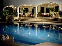 Luxury patio and pool - Blue Design Company