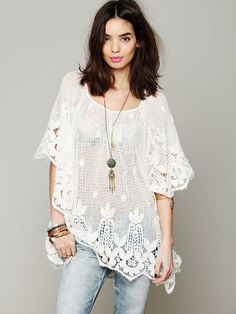 Free People Roma Tunic.  Great clothes from this place.  Prices are ridiculous though.