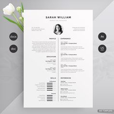 Resume/CV by Mr-Template If you like this cv template. Check others on my CV template board :) Thanks for sharing! If you like this design. Check others on my CV template board :) Thanks for sharing! Template Cv, Resume Design Template, Resume Templates, Modern Resume Template, Cover Letter For Resume, Cover Letter Template, Letter Templates, Cover Letters, Resume Tips