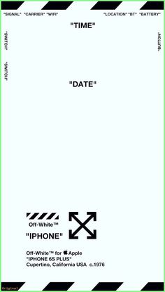 """Iphone Wallpaper - Off-White Lock Screen Wallpaper ver. 1 """"MINT GREEN"""" (Specifically for iPhone . Iphone Wallpaper Off White, Lock Screen Wallpaper Iphone, Wallpaper Iphone Disney, Iphone Background Wallpaper, Locked Wallpaper, Beats Wallpaper, Hype Wallpaper, Aesthetic Iphone Wallpaper, Wallpaper Wallpapers"""