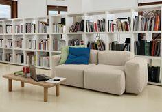 Superoblong sofa by Jasper Morrison for Cappellini Home, Modular Sofa, Sofa Design, Cappellini, Modern Sofa, Fabric Sofa, Contemporary Fabric, Modern Leather Sofa, Contemporary