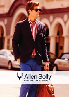 Being colourful is easy as a walk on the beach with Allen Solly's Chino collection