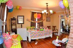 "Photo 1 of 19: Owls / Birthday ""Brooke's 1st Birthday"" | Catch My Party"