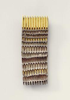 FRANCESCO PAVAN-IT- brooch gold, silver, copper