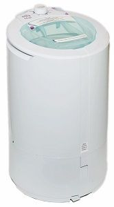 The Laundry Alternative Mega Spin Dryer - 22 lb. clothes drying capacity. This ventless portable electric dryer for apartments, RV, boat, dorm room uses 110v electrical outlet.