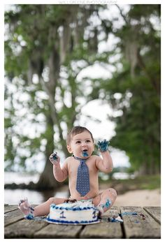 Adam's first birthday and cake smash session, Will Greene Photography, Washington NC