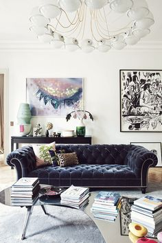 Paris apartment | ( by Sandra Benhamou )