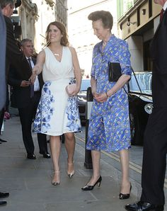 Princess Eugenie and The Princess Royal - 19 July 2016