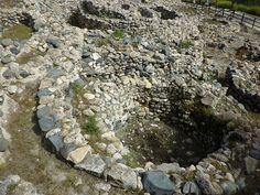 Neolithic hut circles at Khirokitia