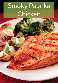 This Smoky Paprika Chicken recipe allows you to taste all the flavors ...