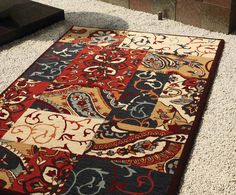 Mandolin Beige Rust Charcoal Floor Rug By Mulberi From Harvey Norman New Zealand