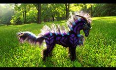 --SOLD--Poseable Fantasy Galaxy Horse! by Wood-Splitter-Lee.deviantart.com on @deviantART
