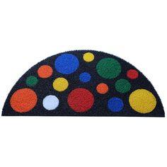 Capacho Mosaico Bolinhas Meia Lua