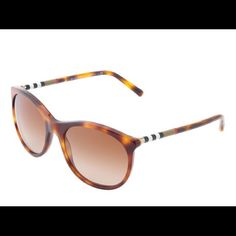 Burberry cat eye sunglasses AUTH Burberry Cat eye sunnies Style number is BE4145 Comes with everything in photos Case is a little damaged These are in wonderful condition and so cute!! Burberry Accessories Sunglasses