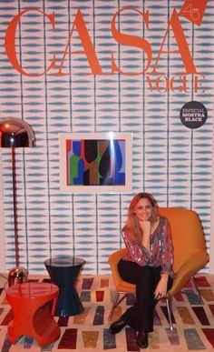 Capa da Revista Casa Vogue 2015 Gerente Bel Lar Exclusive Mara Lacotix