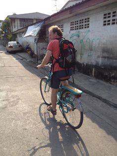 I had a great time biking through Bangkok.