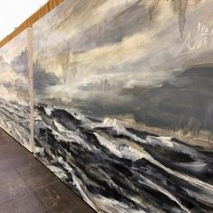 "Jeffrey Nemeroff (@jeffreynemeroff) on Instagram: ""Finally making progress on two 36x60 inch #seascapes !!! #painting #oilpainting #artstudio…"""