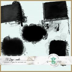 Coffee Staining, 28 Days, Png Format, Scrapbook, Scrapbooks, Scrapbooking, Guest Books