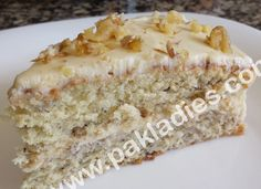 Best Banana Cake with Cream Cheese Frosting Recipe