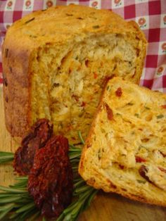 This flavorful bread has a nice texture for sandwiches. It also makes wonderful croutons when cut into squares and toasted. Adapted from a recipe in  The Bread Machine Book