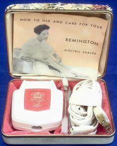Vintage Pink Lady Remington Electric Shaver / Razor Model BL ~ w/Case ~ Works! Electric Razors, Lady Shavers, Cleaning Brushes, Brush Cleaner, Vintage Pink, It Works, Pink Ladies, Nostalgia, Smooth