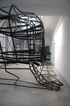 The Modern Institute / Exhibitions / Monika Sosnowska: '1:1', The Polish Pavilion, 52nd Venice Biennale, 2007 / Images