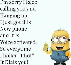 New phone Laughing Colors, Keep Calling, Crazy People, New Phones, Adult Humor, Teenager Posts, True Quotes, Minions, Funny Jokes