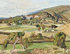 Harald Vike (1906-1987) - Ferntree Gully, 1944 Australian Painting, Australian Art, Historic Houses, Melbourne Victoria, Those Were The Days, 3 Arts, Historical Photos, Old Photos, 2d