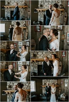 Quarry Lake Park wedding ceremony in Canmore. Wedding Songs, Wedding Couples, Wedding Ceremony, Wedding Dress Sleeves, Long Sleeve Wedding, Dress Lace, Wedding First Look, Dream Wedding, Quarry Lake